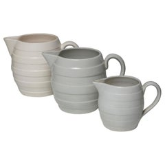 Set of Three Ceramic Pitchers by Guido Andloviz for SCI Laveno
