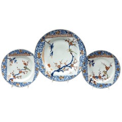 Set of Three Chinese Kangxi /Yongzheng Plates
