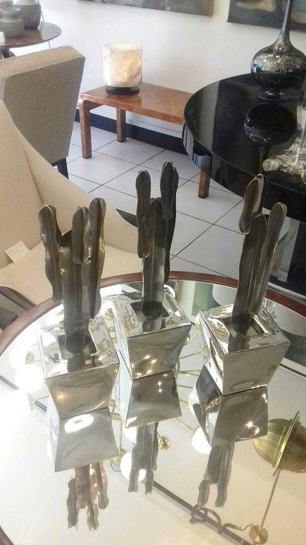 20th Century Set of Three Decorative Cactus For Sale