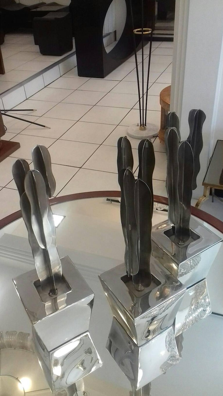 Set of Three Decorative Cactus For Sale 1