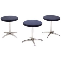 Set of Three Dutch Modern Stools