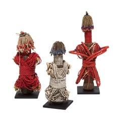 Set of Three Fali Ham Pilu Fertility Dolls