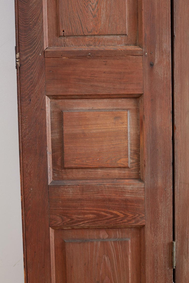 Set of Three French Folding Panel Door Screen  For Sale 4