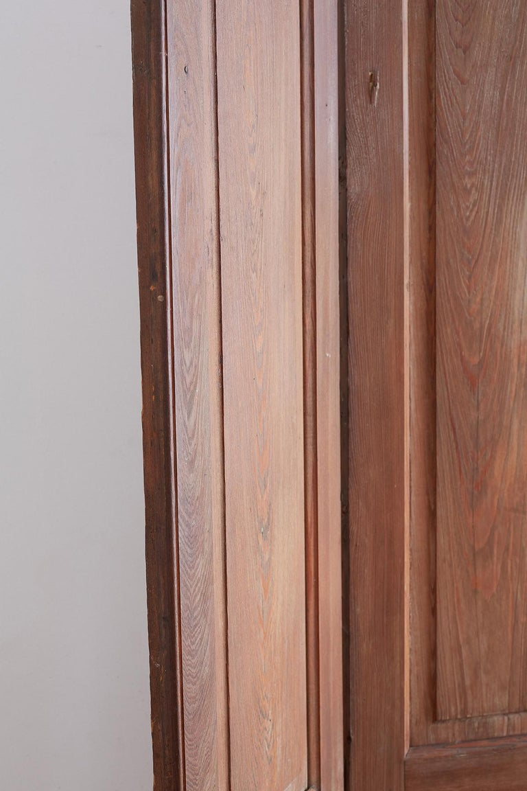 Set of Three French Folding Panel Door Screen  For Sale 1