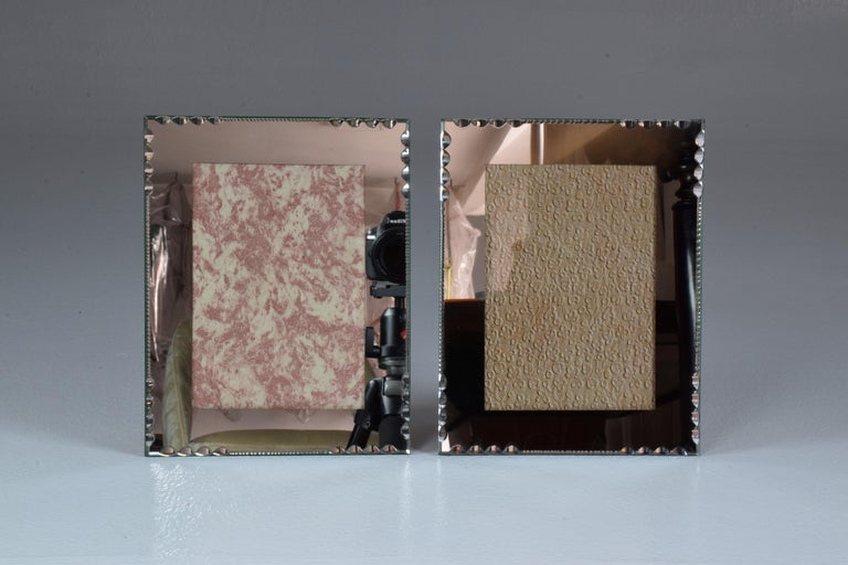 20th Century French Vintage Mirror Frames by G.Escudero, Set of Three, 1950s For Sale