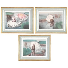 Set of Three Giclee Prints After William Sharpe