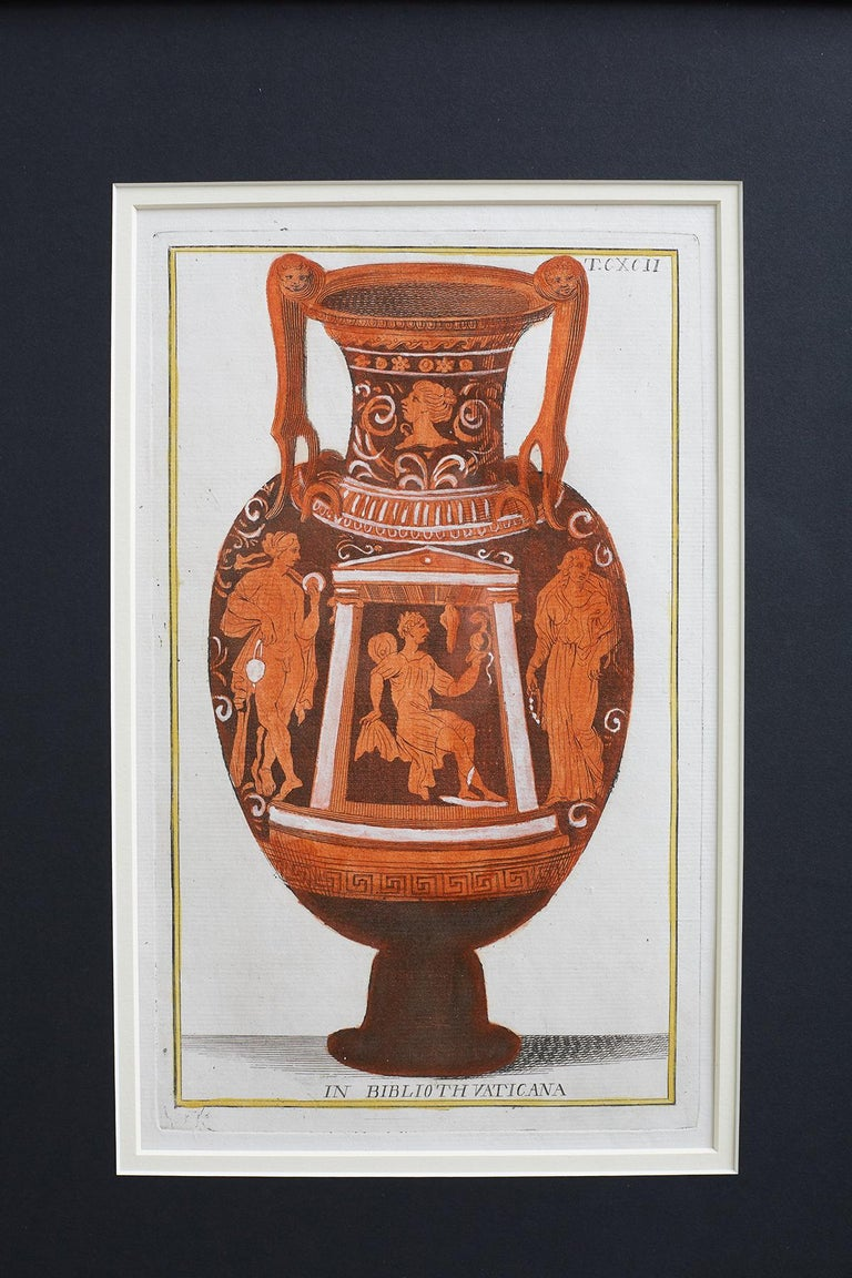 Set of Three Greco-Roman Neoclassical Engravings after Passeri For Sale 3