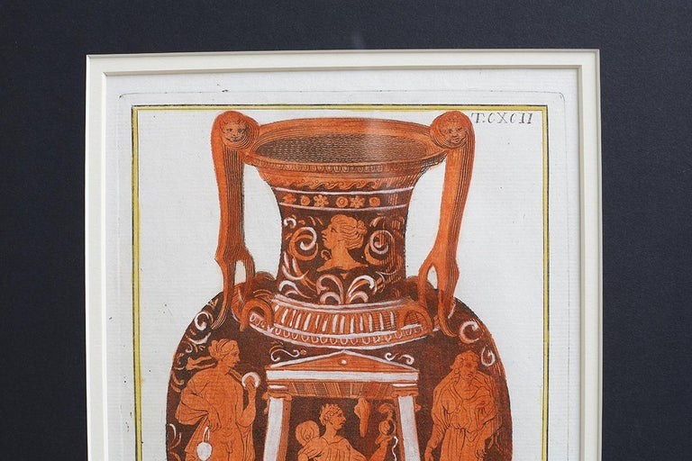 Set of Three Greco-Roman Neoclassical Engravings after Passeri For Sale 4