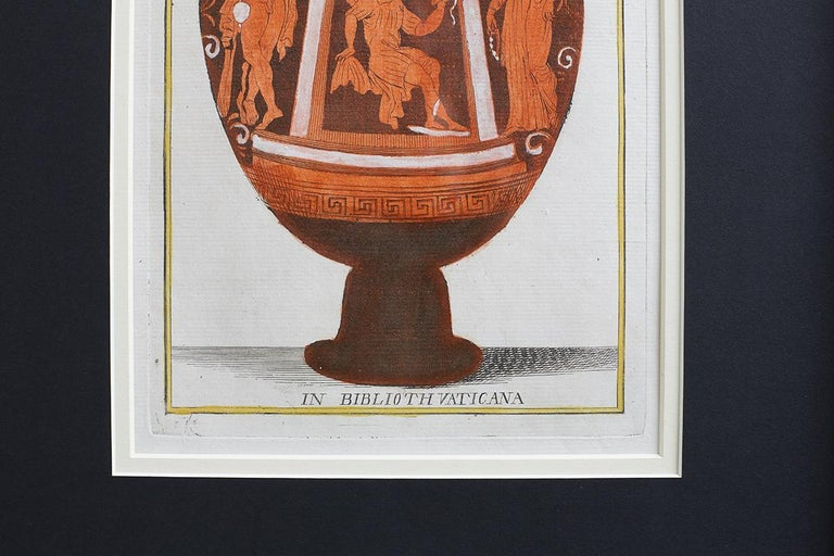 Set of Three Greco-Roman Neoclassical Engravings after Passeri For Sale 6