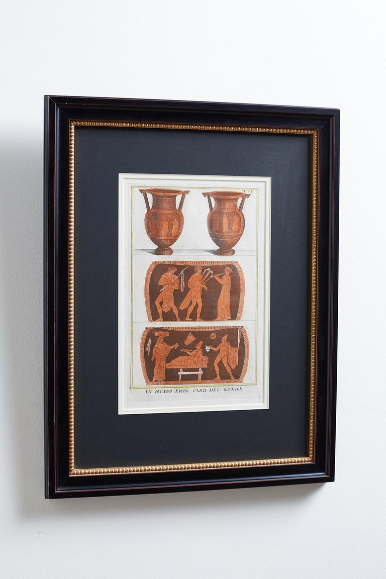 Set of Three Greco-Roman Neoclassical Engravings after Passeri For Sale 8