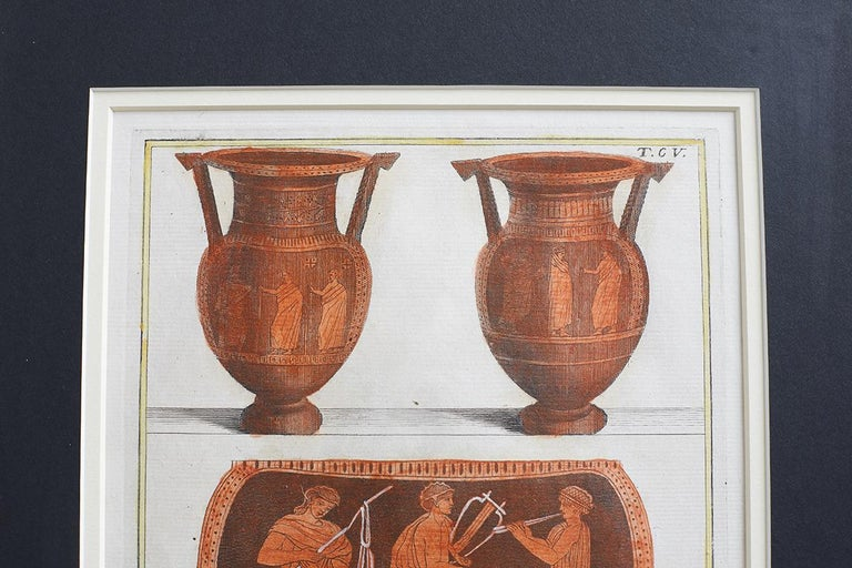 Set of Three Greco-Roman Neoclassical Engravings after Passeri For Sale 9