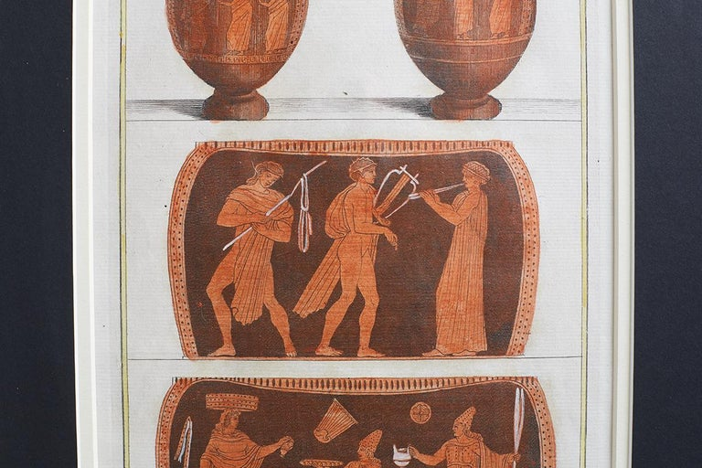Set of Three Greco-Roman Neoclassical Engravings after Passeri For Sale 10
