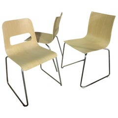 Set of Three LaPalma Thin and Hole Chairs
