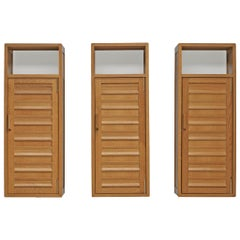 Set of Three Large Wall Cabinets