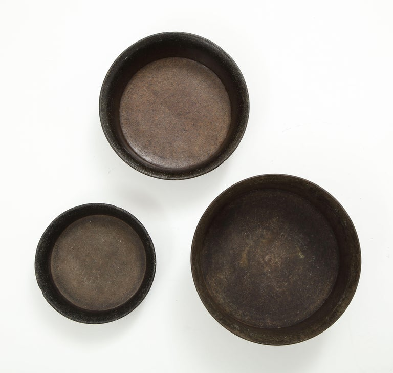 Set of Three Mesoamerican Bowls, 'PreColumbian/Chauvin' 900 B.C. - 1500 A.D. For Sale 1