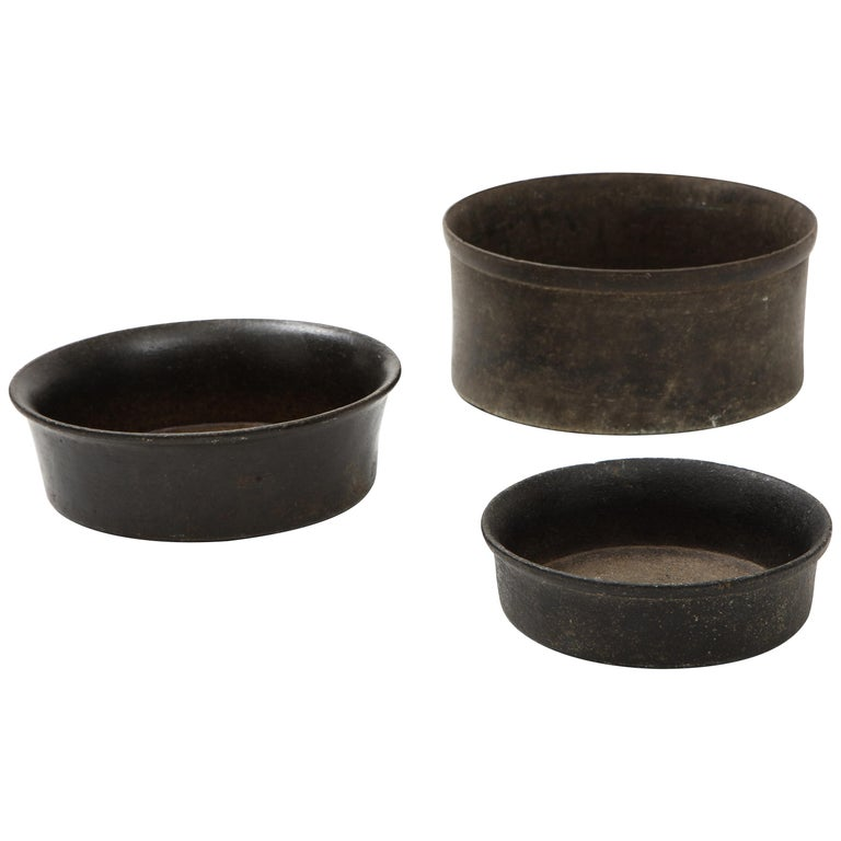 Set of Three Mesoamerican Bowls, 'PreColumbian/Chauvin' 900 B.C. - 1500 A.D. For Sale