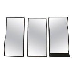 Set of Three Mid-Century French Fairground/Circus Distortion Mirrors