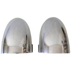 Set of Two Mid-Century Modern Wall Lamps or Sconces, 1970s, Germany