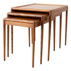 Set of Three Nesting Tables by Robsjohn-Gibbings for Widdicomb