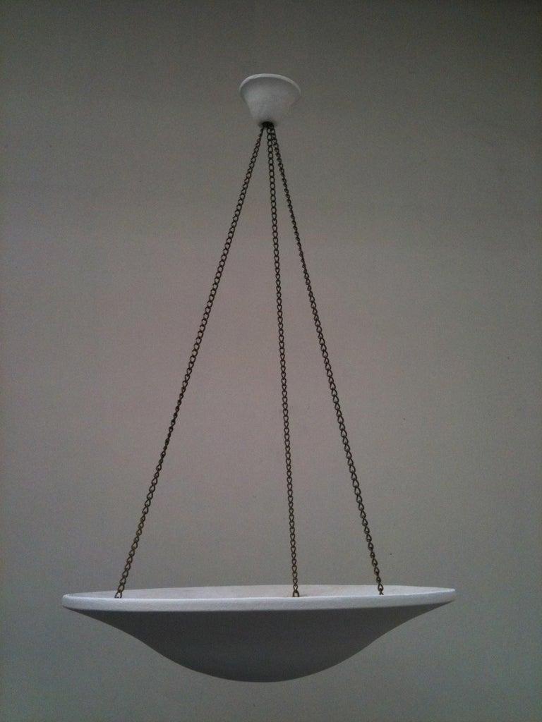 French Set of Three-Pendant Lights