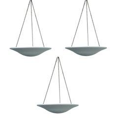 Set of Three-Pendant Lights