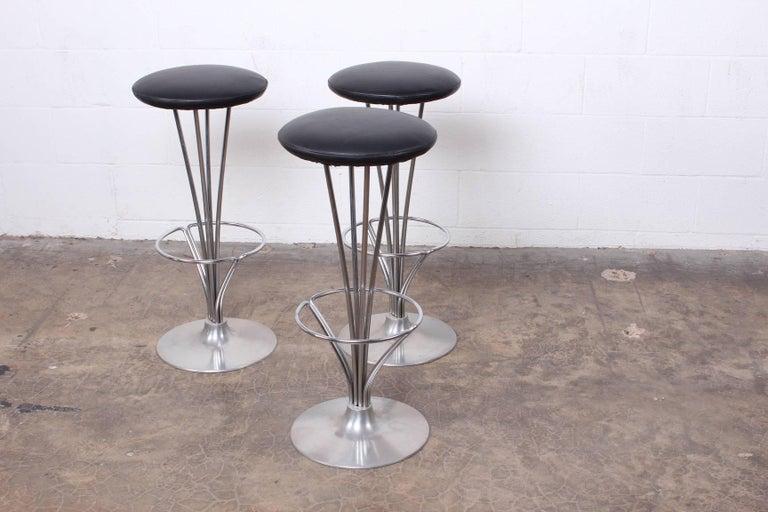 Set of Three Piet Hein Barstools 5