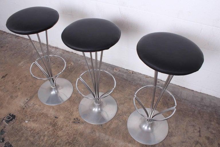 Set of Three Piet Hein Barstools 3