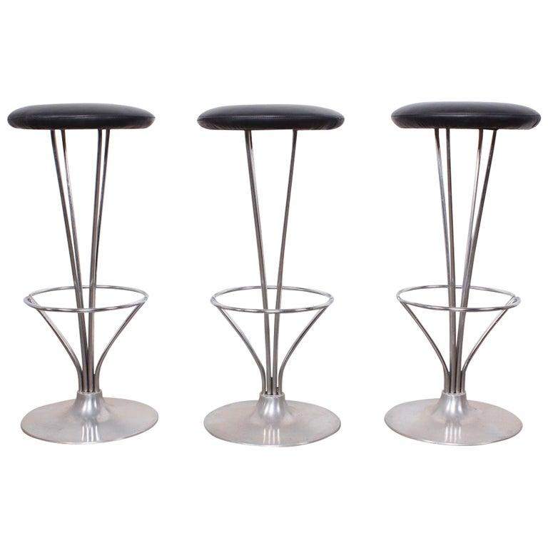 Set of Three Piet Hein Barstools