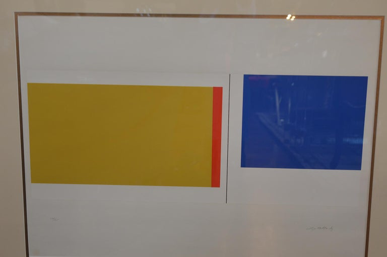 Set of Three Serigraphs by Ilya Bolotowsky For Sale 5