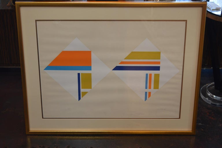 Set of Three Serigraphs by Ilya Bolotowsky For Sale 8