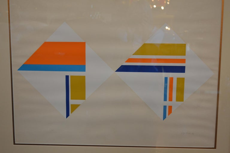 Set of Three Serigraphs by Ilya Bolotowsky For Sale 9
