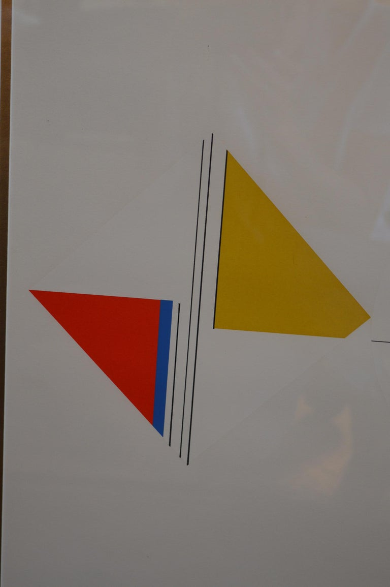 Set of Three Serigraphs by Ilya Bolotowsky In Excellent Condition For Sale In Los Angeles, CA