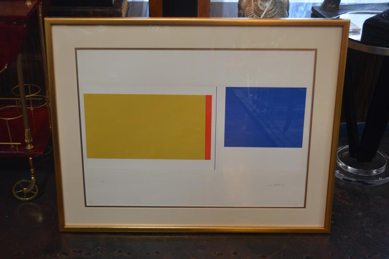 Set of Three Serigraphs by Ilya Bolotowsky For Sale 4