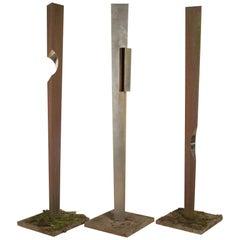 Set of Three Simon Frend Sculptures