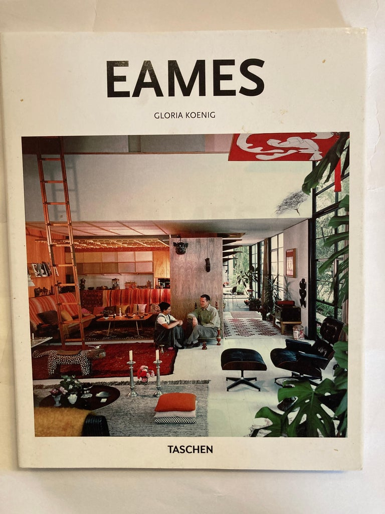 Set of three Taschen hardcover books Eames, case study, Mies van der Rohe.