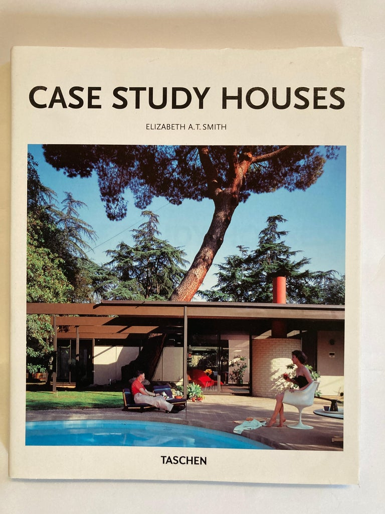 Mid-Century Modern Set of Three Taschen Hardcover Books Eames, Case Study, Mies van der Rohe