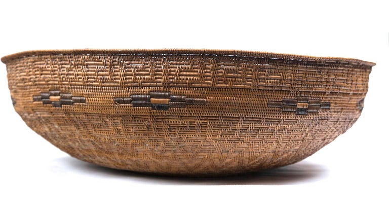 Set of Three Vintage Asian Baskets, 20th Century For Sale 3