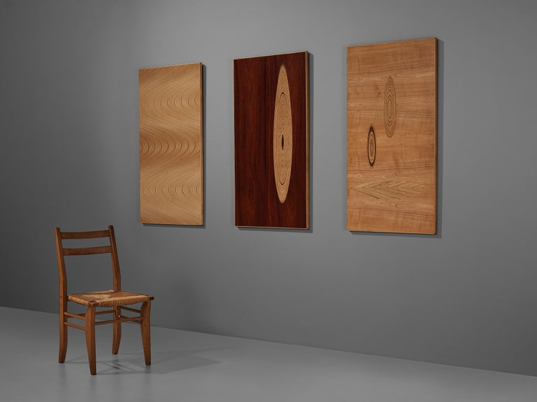Set of Three Wall Panels Designed by Tapio Wirkkala For Sale 3