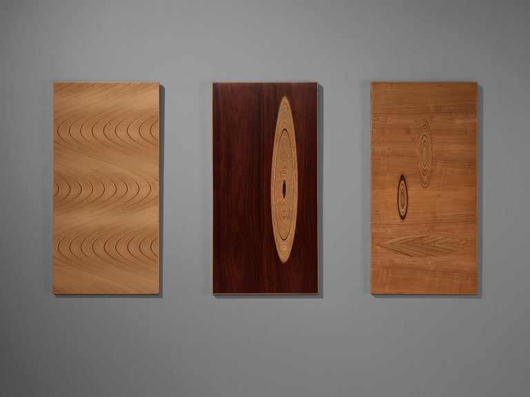 Set of Three Wall Panels Designed by Tapio Wirkkala For Sale 4
