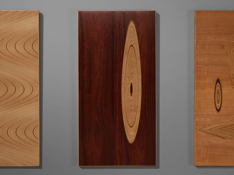 Set of Three Wall Panels Designed by Tapio Wirkkala In Good Condition For Sale In Waalwijk, NL