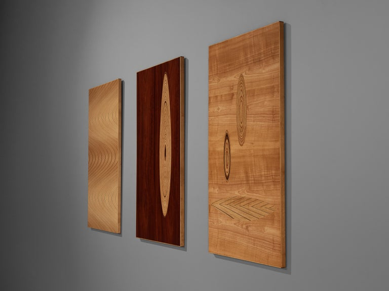 Set of Three Wall Panels Designed by Tapio Wirkkala For Sale 2