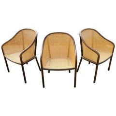 Set of Three Ward Bennett Chairs for Brickel