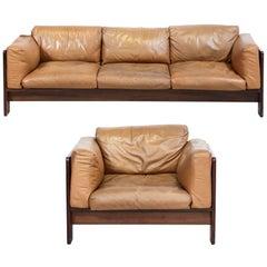 Set of Tobia Scarpa Sofa or Armchair, Model Bastiano in 1962