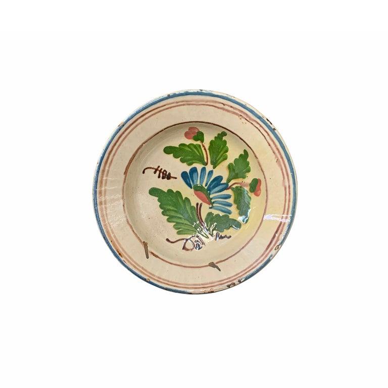 Set of Twelve 19th Century Hungarian Ceramic Bowls For Sale 8