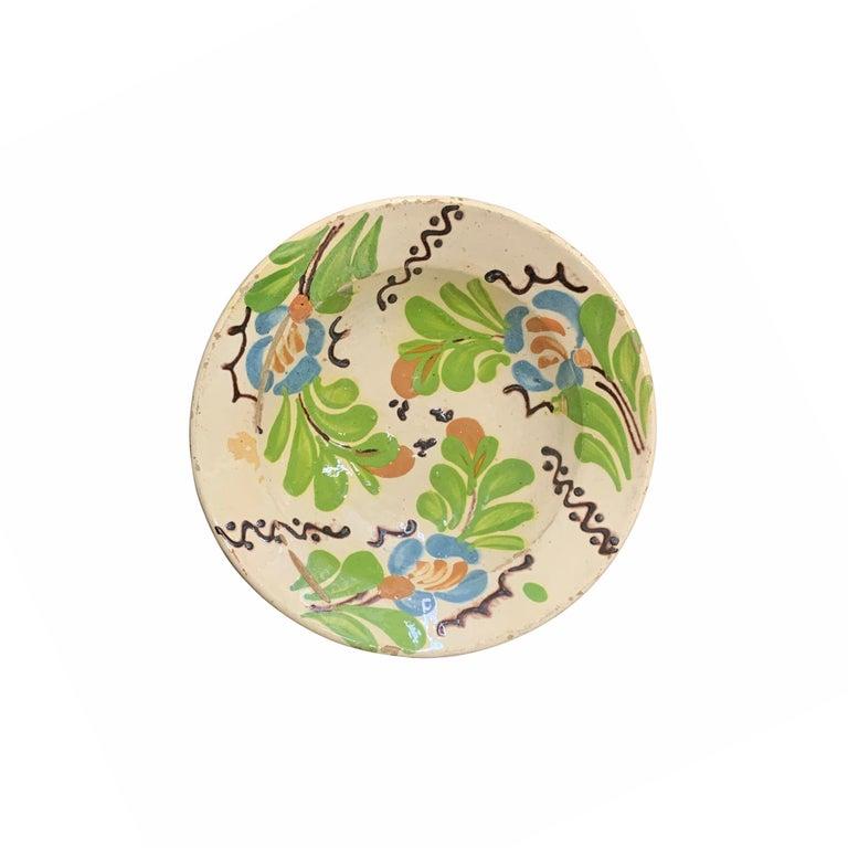 Set of Twelve 19th Century Hungarian Ceramic Bowls For Sale 9