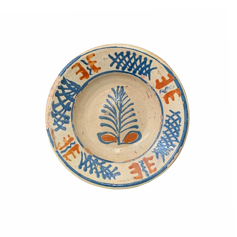 Set of Twelve 19th Century Hungarian Ceramic Bowls In Good Condition For Sale In Chicago, IL