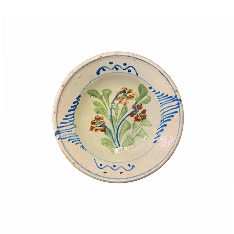 Glazed Set of Twelve 19th Century Hungarian Ceramic Bowls For Sale