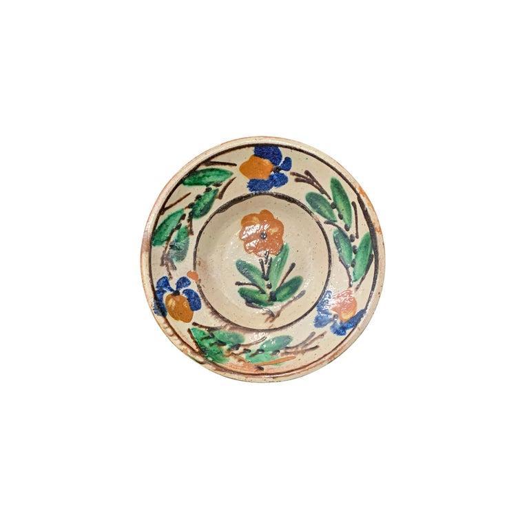 Set of Twelve 19th Century Hungarian Ceramic Bowls For Sale 6