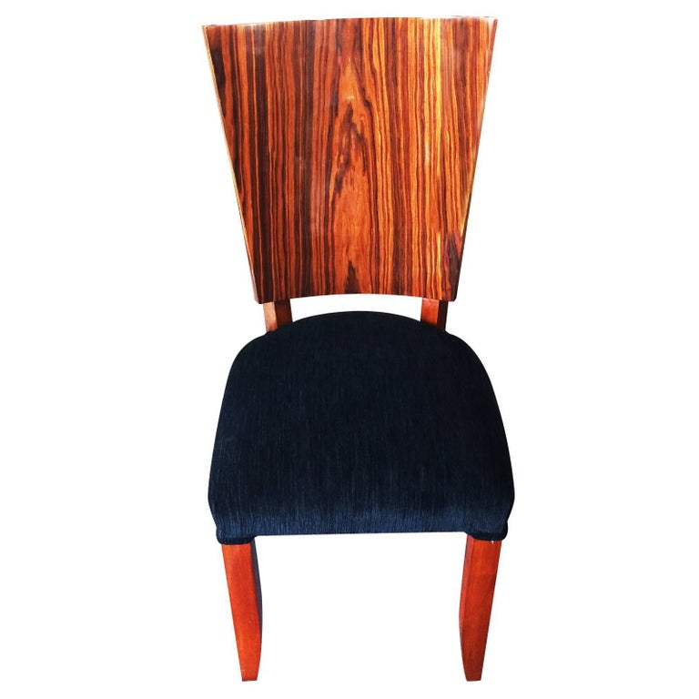 Set of Twelve Art Deco  Dining Chairs Including 2 Carvers In Good Condition For Sale In Daylesford, Victoria