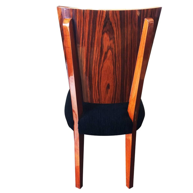 Set of Twelve Art Deco  Dining Chairs Including 2 Carvers For Sale 1